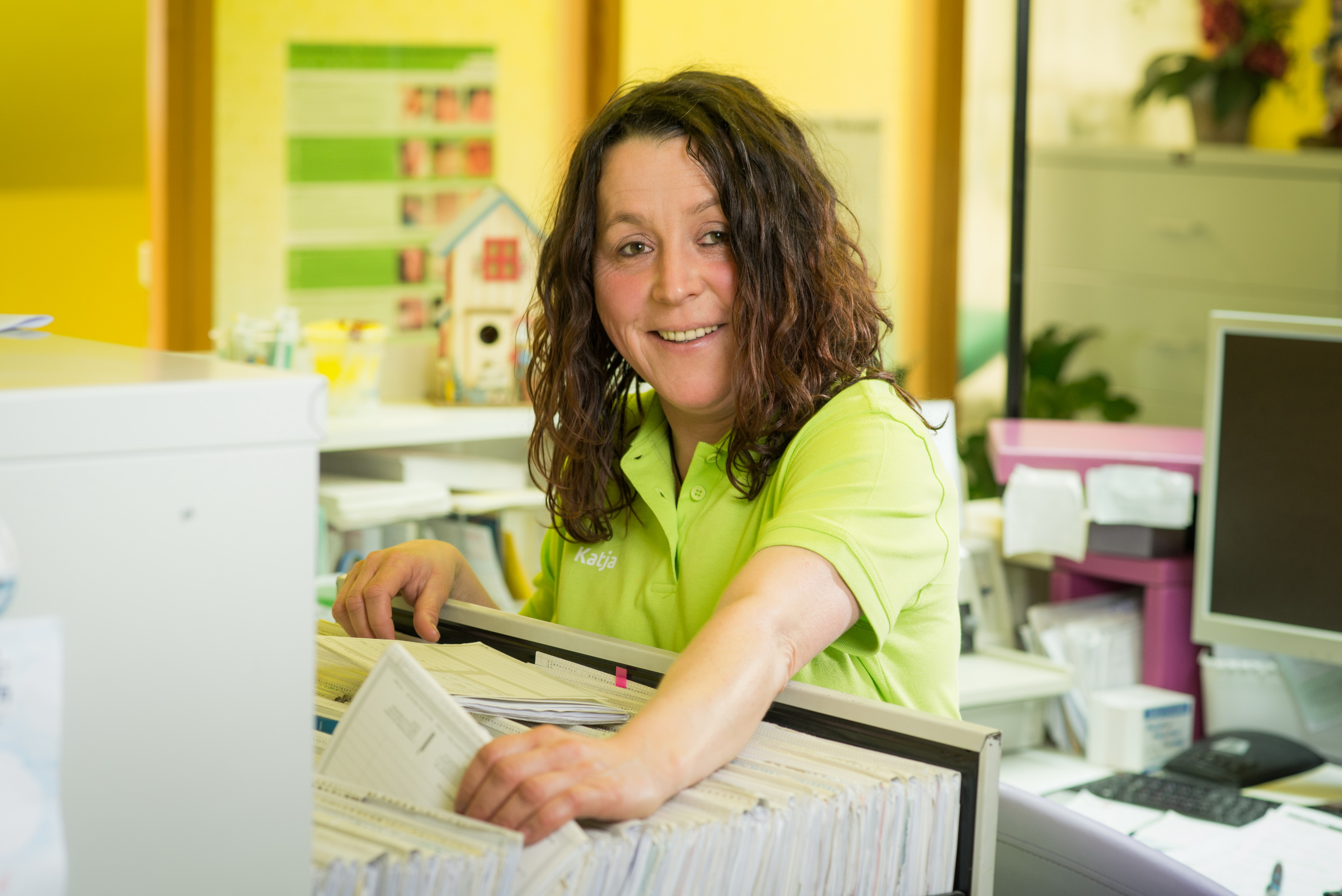 Katja Kallenbach, Medizinische Fachangestellte.